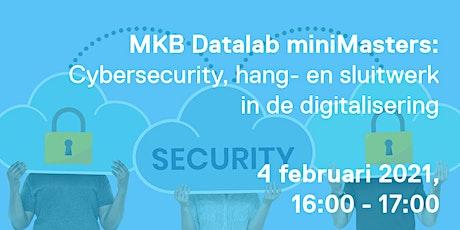 MKB Datalab miniMaster: Cybersecurity tickets