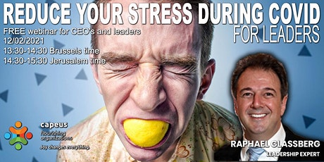 Reduce your stress   during Covid tickets