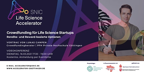 Crowdfunding  für Life Science Startups Tickets