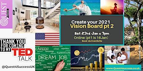 Online Vision Board Workshop Level 2 tickets