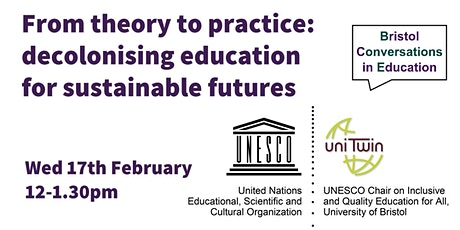 From theory to practice: decolonising education for sustainable futures tickets