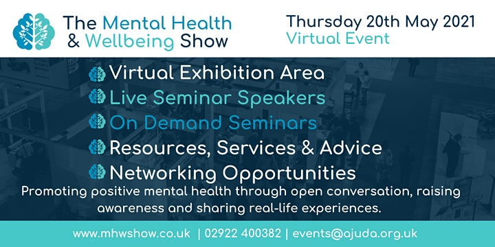 Mental Health & Wellbeing Show 2021 VIRTUAL image