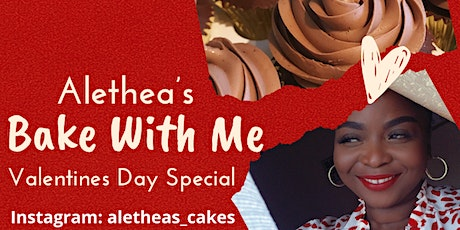 Bake With Me Valentines Special tickets
