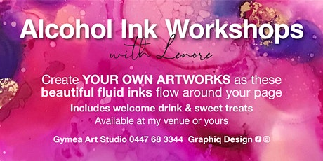 Alcohol Ink Workshops with Lenore (Gymea Art Studio /Sydney) tickets