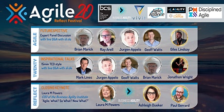 Global Agile20Reflect Festival Event - An Agile Manifesto Futurespective tickets