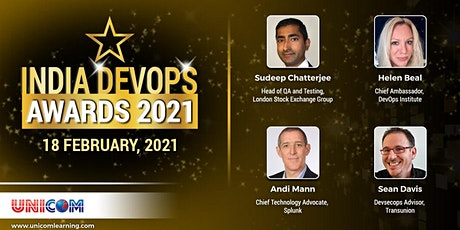 India DevOps Awards 2021 tickets