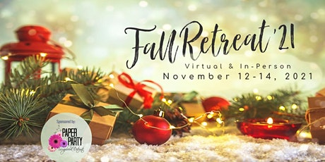 2021 Fall Scrapbook Retreat tickets