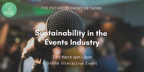 Sustainability in the Events Industry tickets