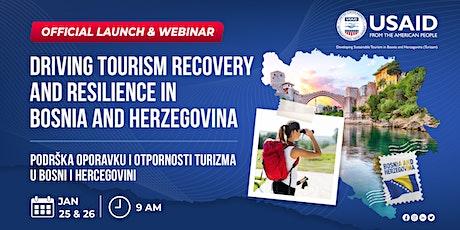 USAID Turizam Project Launch & Webinar | Predstavljanje Projekta i Webinar tickets