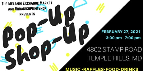 Pop-Up, Shop-Up tickets