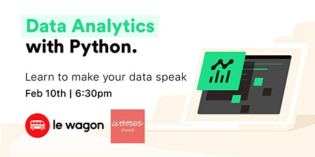 Data Analytics with Python tickets