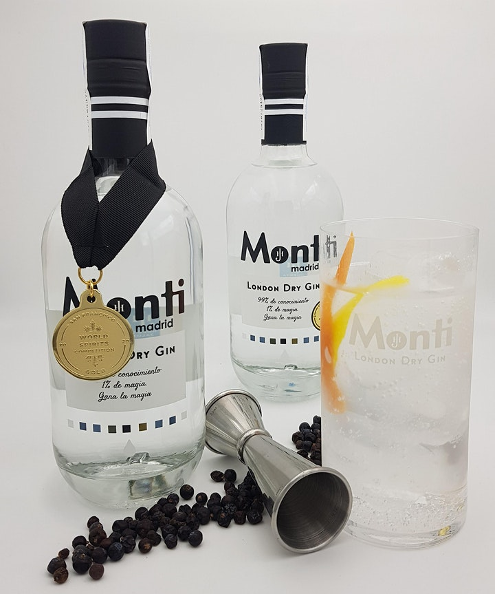 Ginuary at Iberica: Meet the maker - Monti Gin from Madrid image
