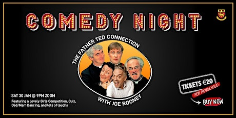 Comedy Night - The Father Ted Connection with Joe Rooney tickets