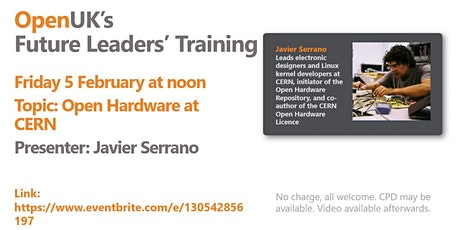 Open Hardware at CERN - Future Leaders Training tickets