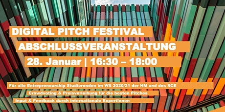 Abschluss Pitch Festival aller Real Project Seminare tickets