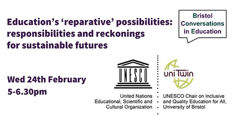 Education's 'reparative' possibilities tickets