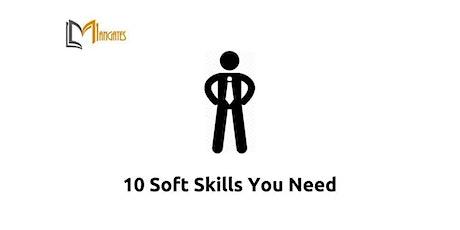 10 Soft Skills You Need 1 Day Virtual Live Training in Jersey City, NJ biglietti