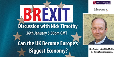 Devonshire House Brexit Discussion with Nick Timothy tickets