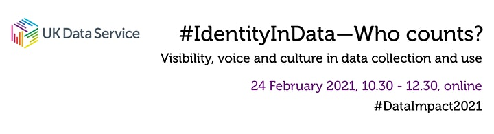 DataImpact2021: #IdentityInData: Who counts? Visibility, voice and culture image