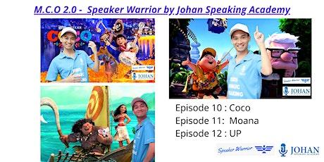 Speaker Warrior by Johan Speaking Academy ( Ep 10 - 12) tickets