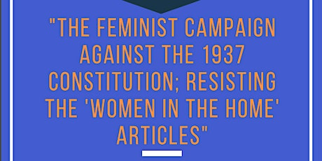 The feminist campaign against the 1937 Constitution tickets