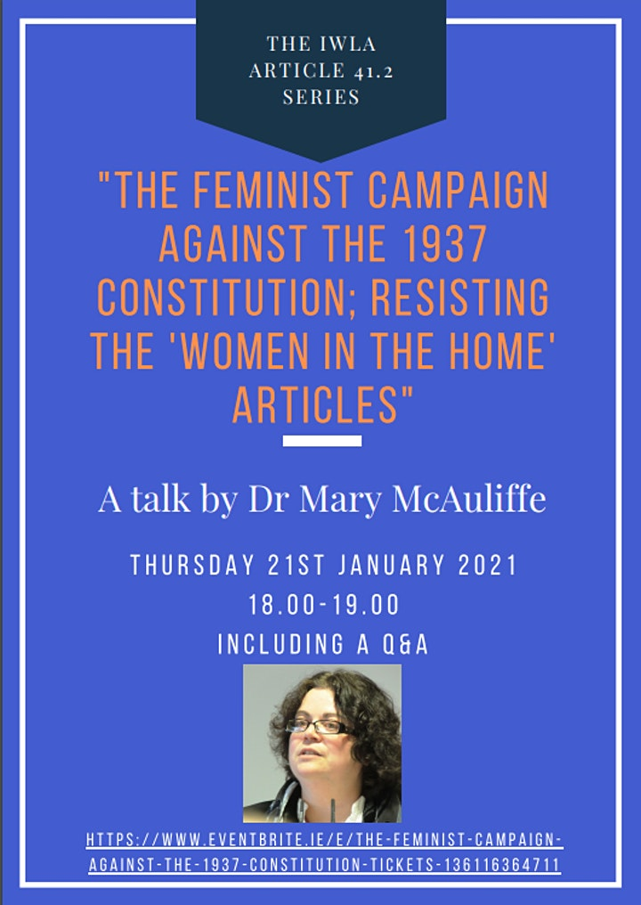 The feminist campaign against the 1937 Constitution image