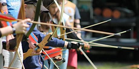 Bogenschießen inklusiv für Eltern & Kinder Tickets