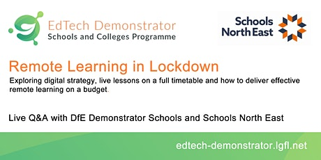 What does effective remote learning look like in lockdown? tickets