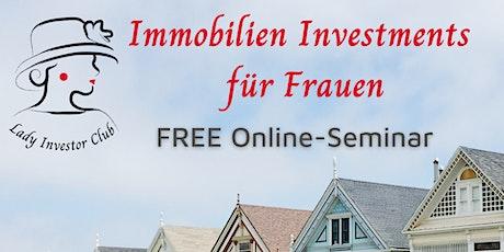 Immobilien Investments für Frauen: Lage Lage Lage - gute Immobilien finden Tickets
