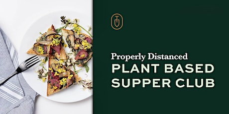Topsoil Supper Club May Plant Based Dinner tickets