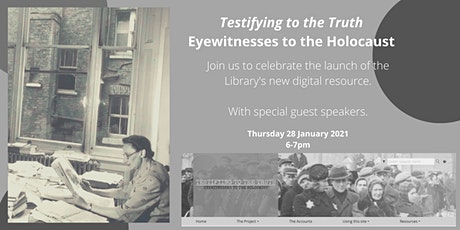 Launch Event: Testifying to the Truth Digital Resource & Panel Discussion tickets