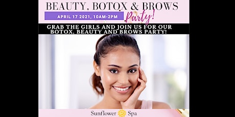 Beauty, Botox & Brows- April 2021 tickets
