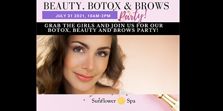 Beauty, Botox & Brows- July 2021 tickets