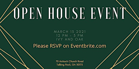 Open House Event tickets