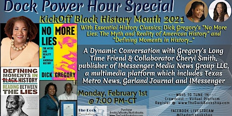 Kickoff Black History Month 2021 - Dick Gregory and A Conversation with Jou tickets