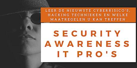Security Awareness IT Professionals Training (Nederlands) tickets