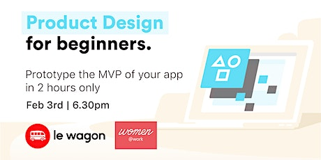 Product Design for beginners tickets