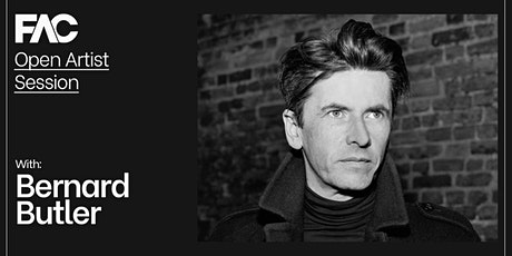 Online Artist Session with Bernard Butler tickets