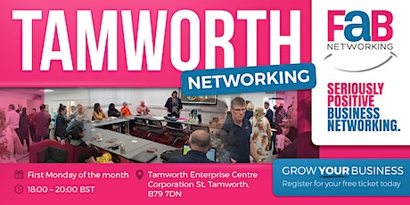 FaB Networking with FindaBiz Tamworth tickets