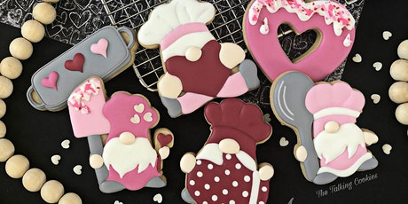 SOLD OUT! Baking with my Gnomies -  Beginner Cookie Decorating Class tickets
