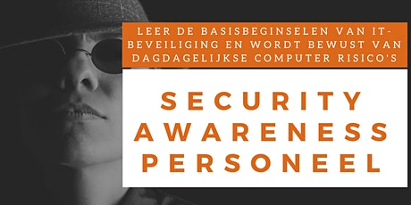Security Awareness Personeel Online Training (Nederlands) tickets