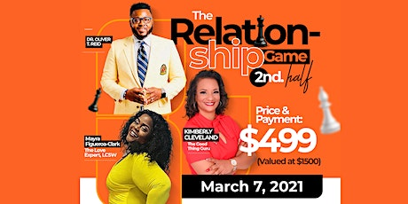 The Relationship Game 2nd Half: Strategies to Win in Relationships tickets