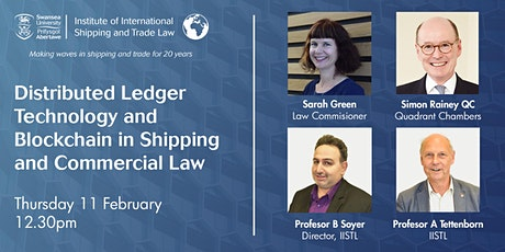 Distributed Ledger Technology and Blockchain in Shipping and Commercial Law tickets