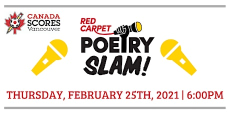 Canada SCORES Red Carpet Poetry Slam 2021 tickets