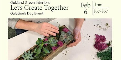 Galentine's DIY Succulent Planter tickets