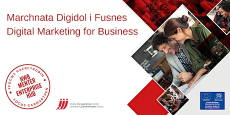 Marchnata Digidol i Fusnes | Digital Marketing for Business tickets