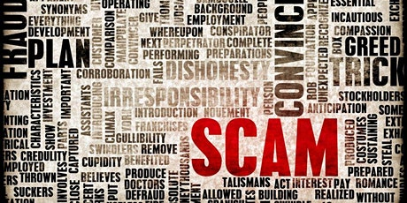 Scams in 2021:Why are They Successful?  PM Session tickets