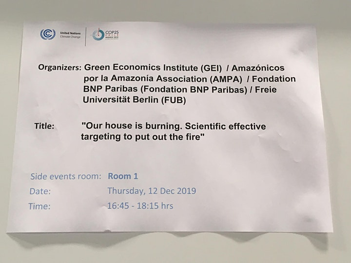 Webinar on Green Economics, Gender and Climate for the General Public image