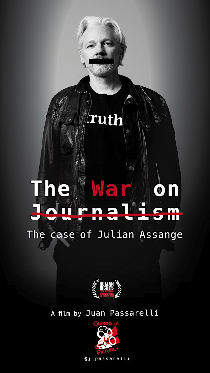 The War on Journalism (film and live Q&A) image