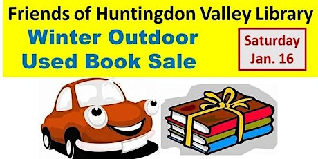 Friends of HV Library Used BOOK SALE tickets